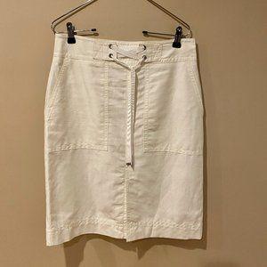 Ann Taylor Linen Skirt - Size 6